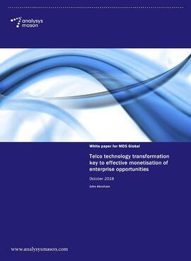 Telco Technology Transformation Whitepaper